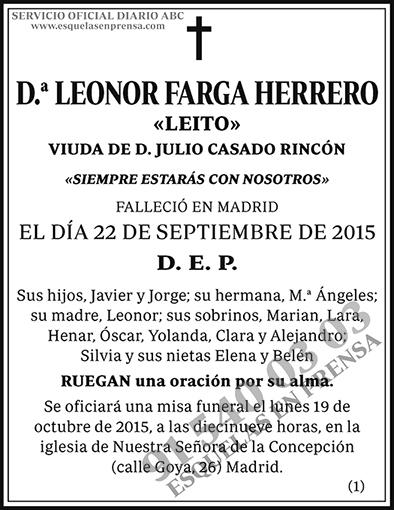 Leonor Farga Herrero